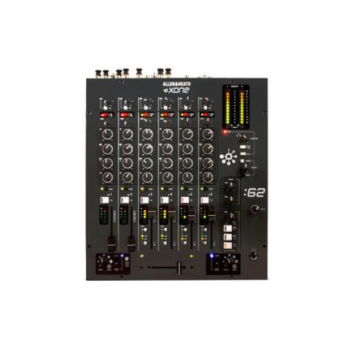 Allen & Heath Xone 62 Graphite Grey Professional Club DJ Mixer