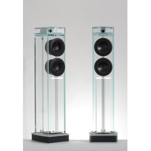 Waterfall Niagara Glass Speakers (Pair)