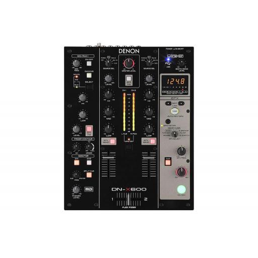 Denon DNX600 Digital DJ Mixer - MIDI Interface & Sound Card