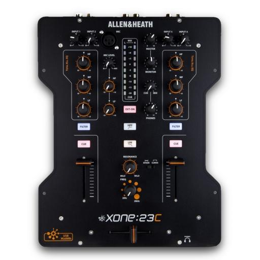 Allen and Heath Xone 23C DJ Mixer